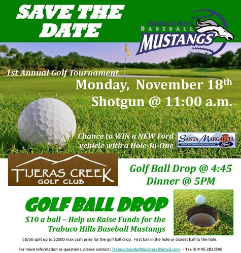 THHS Golf Fundraiser